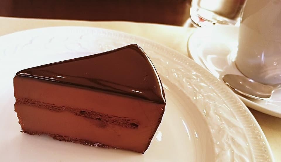 カフェミクニズのガトーショコラ