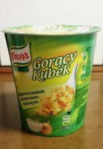 ポーランドで朝食を クノール パスタ/ポーランド旅行①